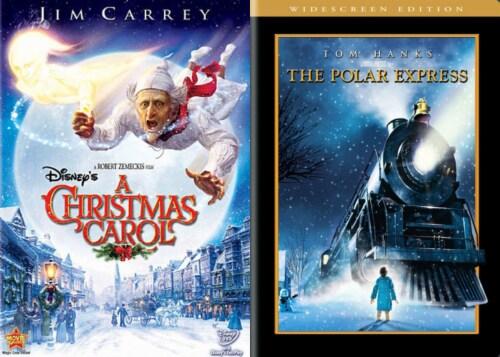A Christmas Carol/ Polar Express Holiday DuoPack (DVD) Perspective: front