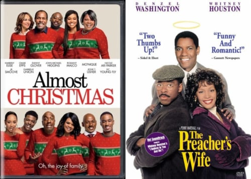 Almost Christmas and Preachers Wife Holiday DuoPack (DVD) Perspective: front