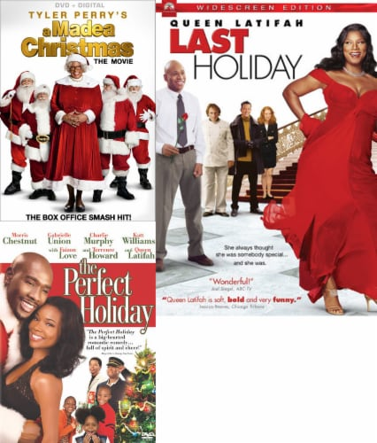 Madea Christmas/ Perfect Holiday/ Last Holiday- Holiday 3-Pack (DVD) Perspective: front