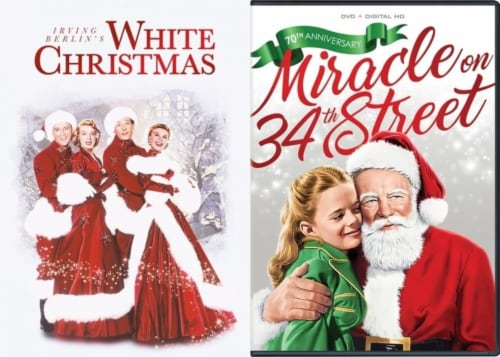 White Christmas/ Miracle on 34th Street Holiday DuoPack (DVD) Perspective: front