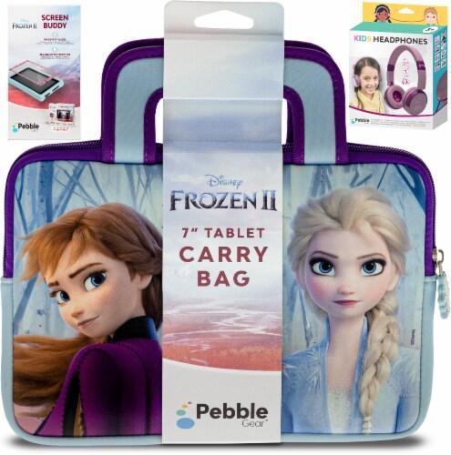 Pebble Gear™ Frozen Tablet Accessory Bundle Perspective: front