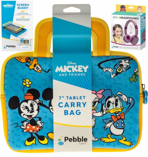 Pebble Gear™ Mickey and Friends Tablet Accessory Bundle Perspective: front