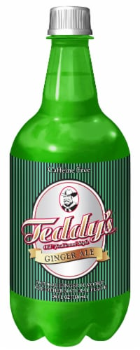 Teddy's Premium Ginger Ale Perspective: front