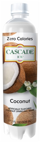 Cascade Ice Zero Calories Coconut Sparkling Water Perspective: front