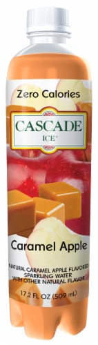 Cascade Ice Caramel Apple Sparkling Water Perspective: front