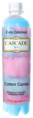 Cascade Ice Cotton Candy Sparkling Water Perspective: front