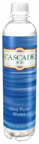 Cascade Ice Ultra Pure Water Perspective: front