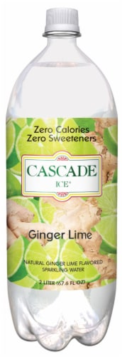 Cascade Ice Ginger Lime Perspective: front