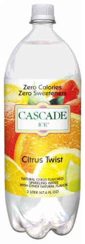 Cascade Ice Citrus Twist Sparkling Water Perspective: front
