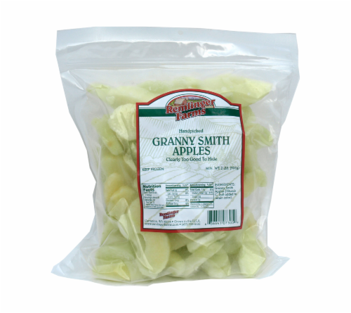 Remlinger Farms Sliced Granny Smith Apples Perspective: front