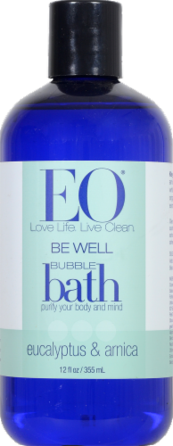 EO Be Well Bubble Bath Perspective: front