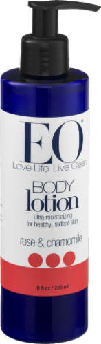 EO Rose & Chamomile Body Lotion Perspective: front