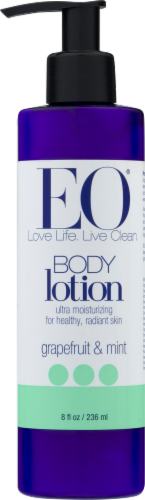 EO Grapefruit & Mint Body Lotion Perspective: front