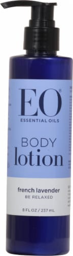 EO French Lavender Body Lotion Perspective: front
