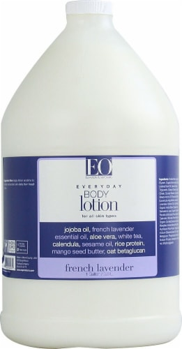 EO Essential Oil Products French Lavender Everyday Body Lotion Perspective: front