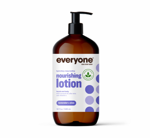 Everyone Lavender + Aloe Lotion Perspective: front