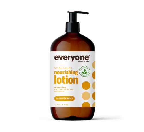 Everyone Coconut Lemon Lotion Perspective: front