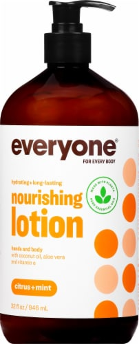Everyone Lotion Citrus + Mint Perspective: front