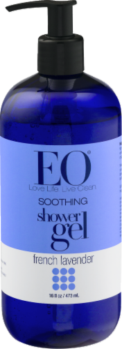 EO French Lavender Shower Gel Perspective: front