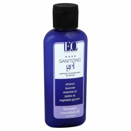 EO Lavender Hand Sanitizer Perspective: front