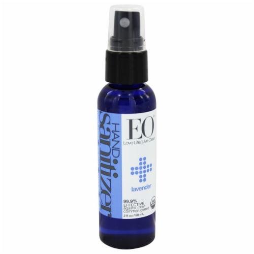 Eo Lavender Hand Sanitizer Spray Perspective: front