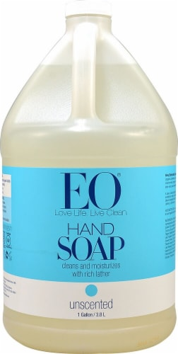 EO Essential Oil Products Liquid Hand Soap Unscented Perspective: front