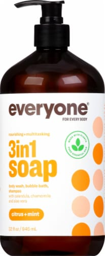 EO Citrus & Mint Everyone Soap Perspective: front