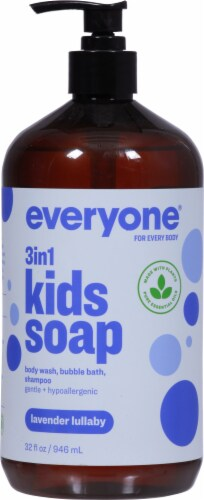 Everyone Kid's Lavendar Lullaby Soap Perspective: front