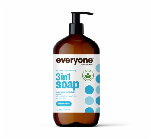 Everyone Unscented Liquid Soap Perspective: front