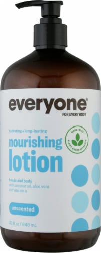 EO Unscented Lotion Perspective: front