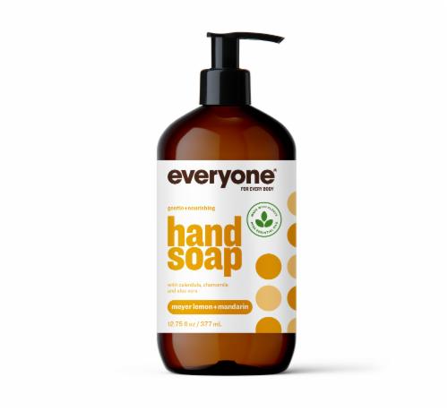 Everyone Meyer Lemon & Mandarin Liquid Hand Soap Perspective: front