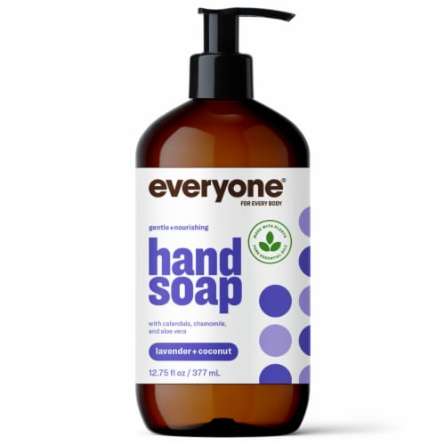 Everyone Lavender + Coconut Hand Soap Perspective: front
