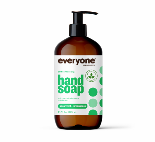 Everyone Spearmint Hand Soap Perspective: front