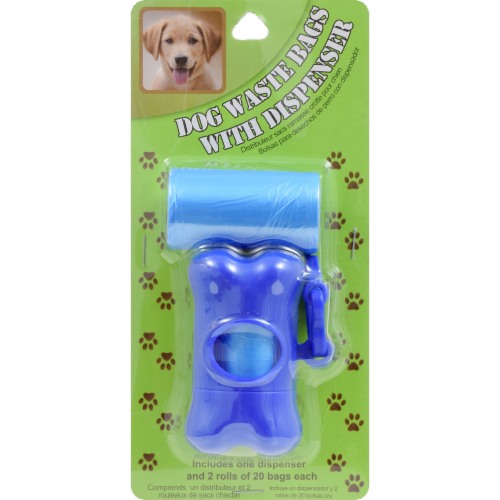 Lami Dog Waste Bags with Dispenser Perspective: front