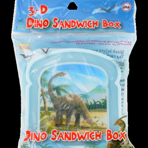 Brite Concepts Dino Sandwich Box Perspective: front