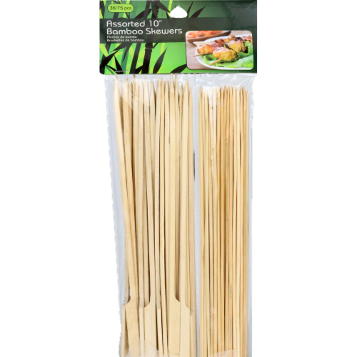 ATA Retail Bamboo Skewers - 111 Pack - Assorted Perspective: front