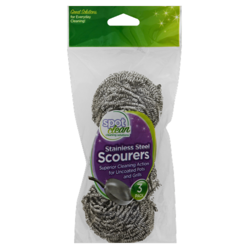 Frontline Stainless Steel Scourers Perspective: front