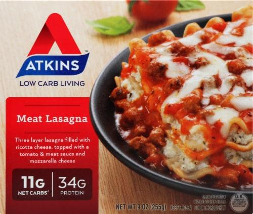 Atkins Meat Lasagna Perspective: front
