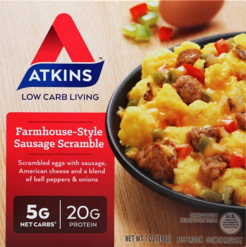 Atkins Farmhouse-Style Sausage Scramble Perspective: front