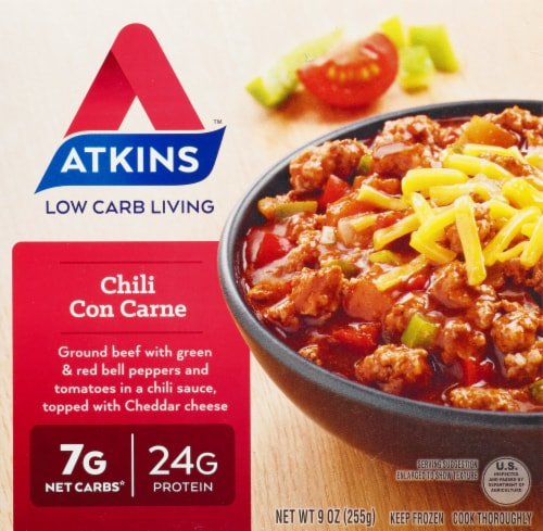 Atkins Chili Con Carne Perspective: front
