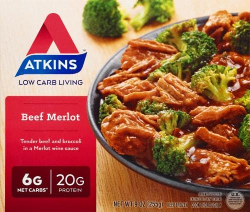 Atkins Beef Merlot Perspective: front