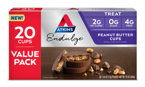 Atkins® Endulge® Peanut Butter Cups Perspective: front