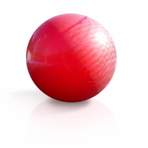 JumpSport JS-BA-072 40 in. Gigantic Trampoline Fun Ball - Red Perspective: front