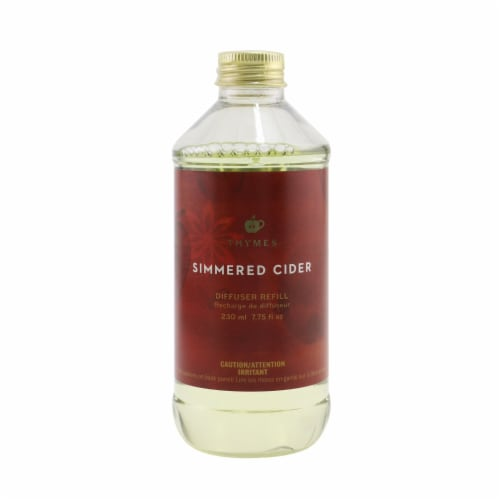 Thymes Reed Diffuser Refill  Simmered Cider 230ml/7.75oz Perspective: front