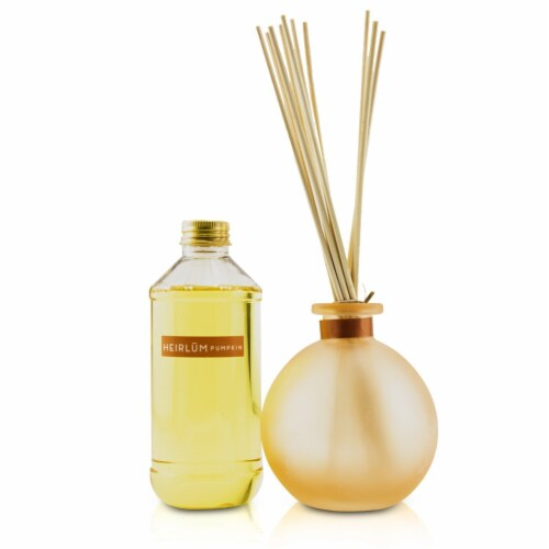 Thymes Reed Diffuser  Heirlum Pumpkin 230ml/7.75oz Perspective: front
