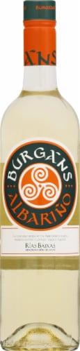 Burgans Albarino White Wine Perspective: front