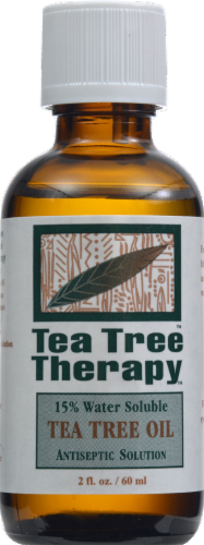 Tea Tree Therapy Water Soluble Tea Tree Oil Antiseptic Solution Perspective: front