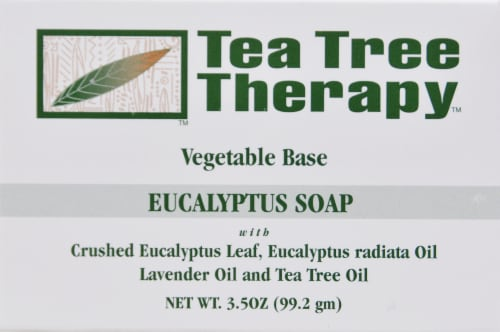 Tea Tree Therapy Eucalyptus Soap Perspective: front