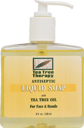 Tea Tree Therapy Liquid Soap with Tea Tree Oil Perspective: front