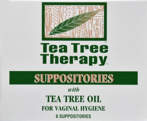 Tea Tree Therapy Suppositories Perspective: front